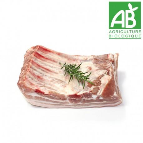 Poitrine de porc Bio