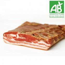 Poitrine de porc fumée Bio