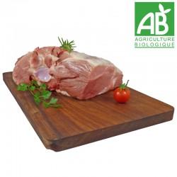 Palette de porc bio