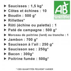 Colis de 10 kg porc Bio n°2